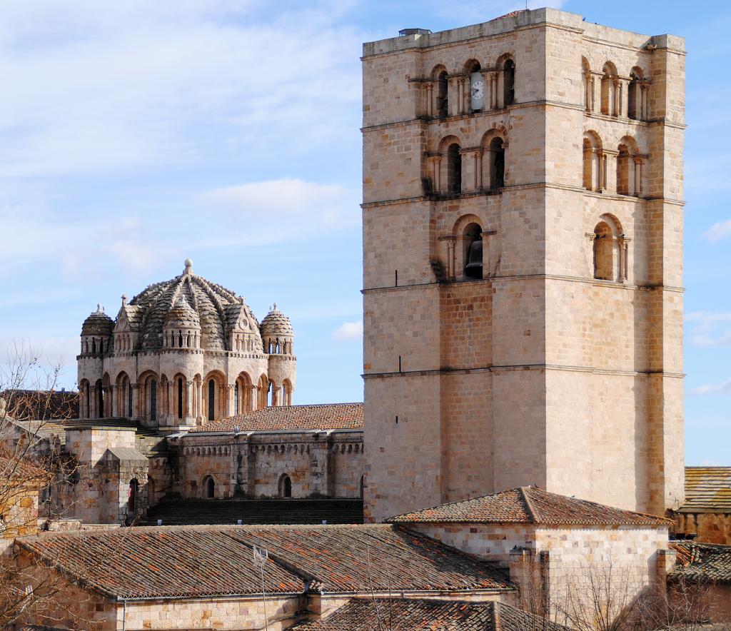 Cimborrio y Torre de la catedral de Zamora