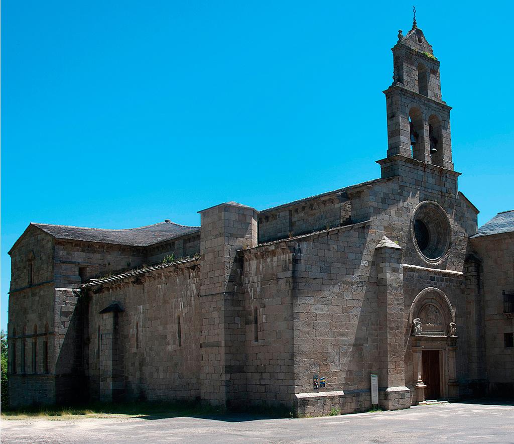 Monasterio De Santa Maria En San Martin De Castaneda Zamora