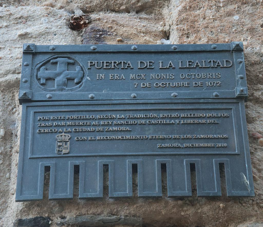 Portillo De La Traición En Zamora